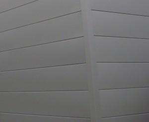 Isolation thermique par l'extérieur : lames métalliques