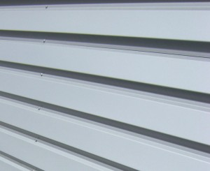 Isolationthermique par l'extérieur : bardage métallique design