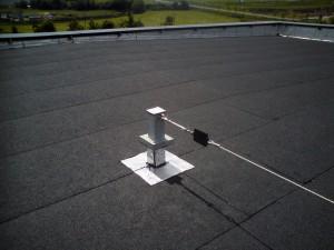 étanchéité : Dispositif de sécurité en toiture